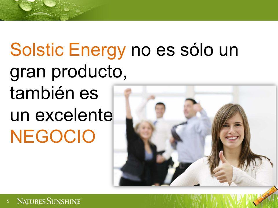 5 Solstic Energy no es sólo un gran producto, también es un excelente NEGOCIO