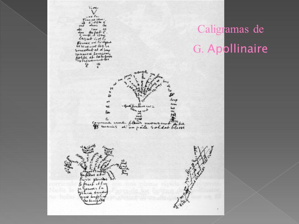 Como corriente pictórica surge en 1907 y en literatura aparece en 1913 con los caligramas de Guillaume Apollinaire. En pintura, propone la descomposic