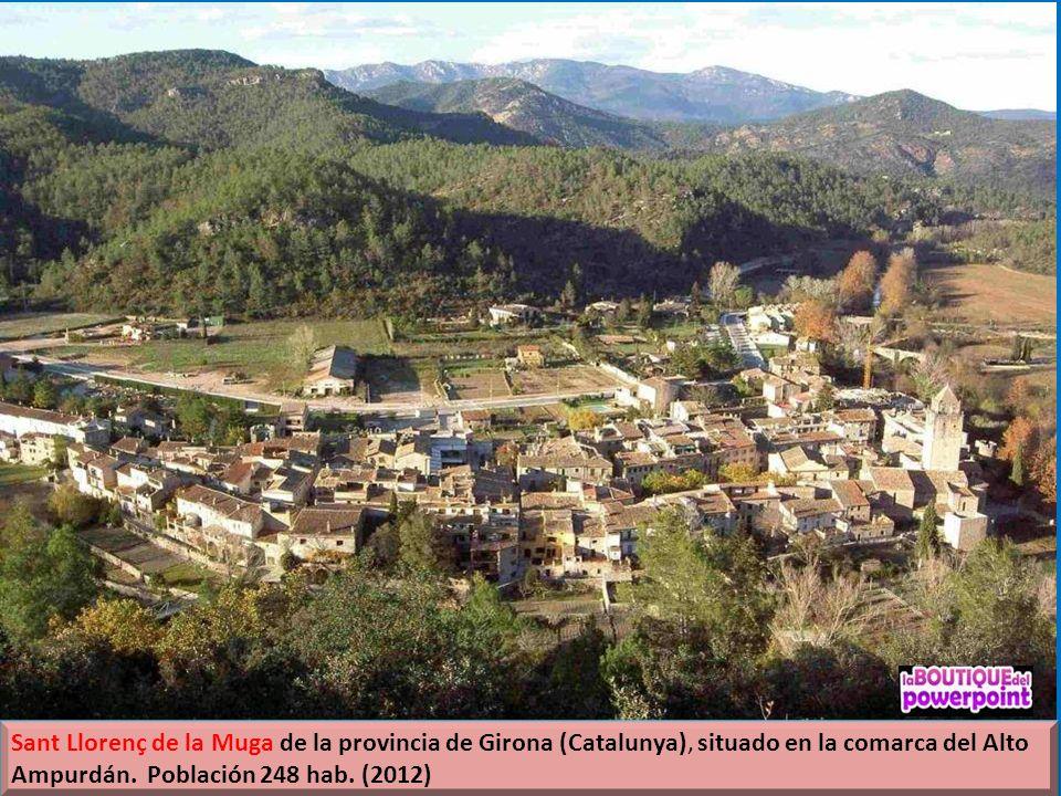 El río Muga nace en el término municipal de Albanyà, en la parte de occidente, y desemboca en los Aiguamolls de l´Empordà. En su trayecto se puede con