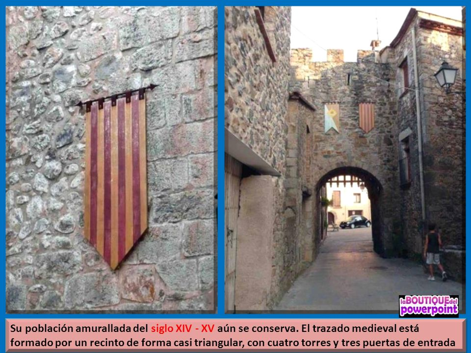 Sant Llorenç de la Muga de la provincia de Girona (Catalunya), situado en la comarca del Alto Ampurdán. Población 248 hab. (2012)