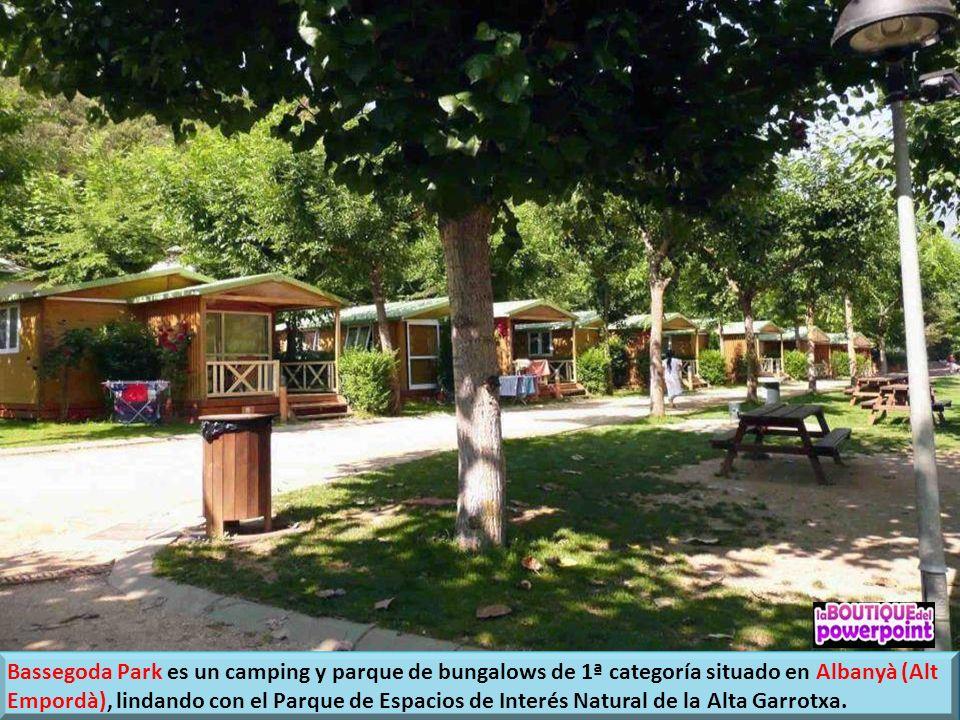 Bassegoda Park es un camping y parque de bungalows de 1ª categoría situado en Albanyà (Alt Empordà), lindando con el Parque de Espacios de Interés Natural de la Alta Garrotxa.