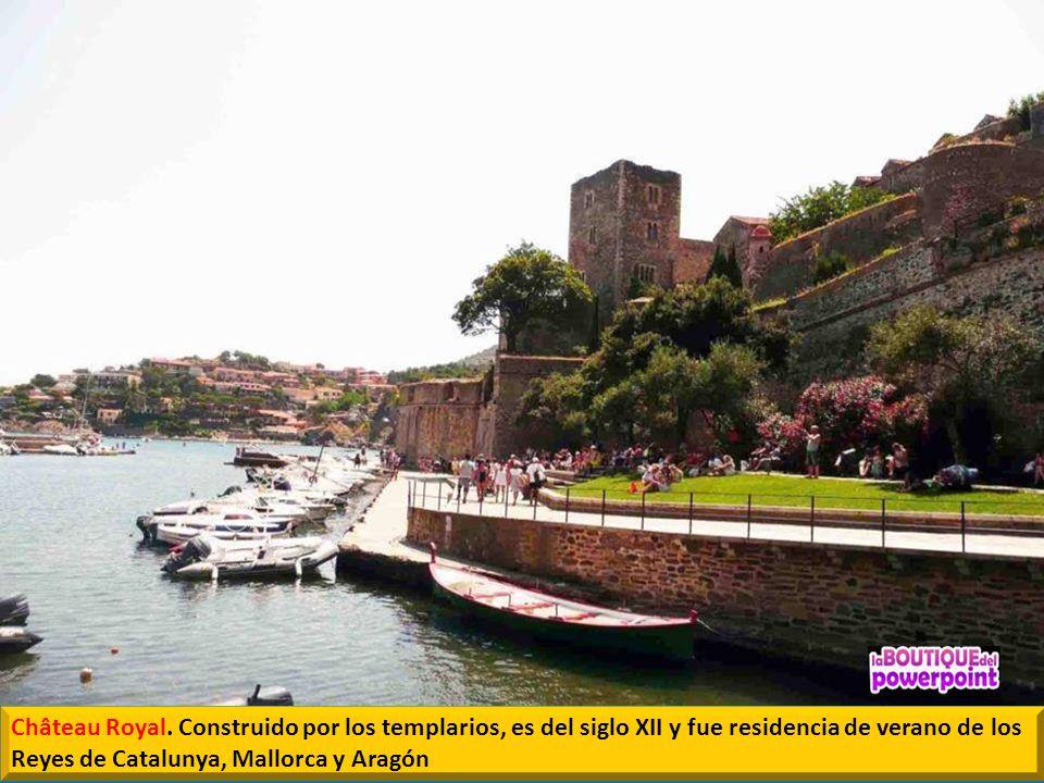 El Castillo Real de Colliure es uno de los monumentos más importantes. La primera documentación del castillo es de 673.