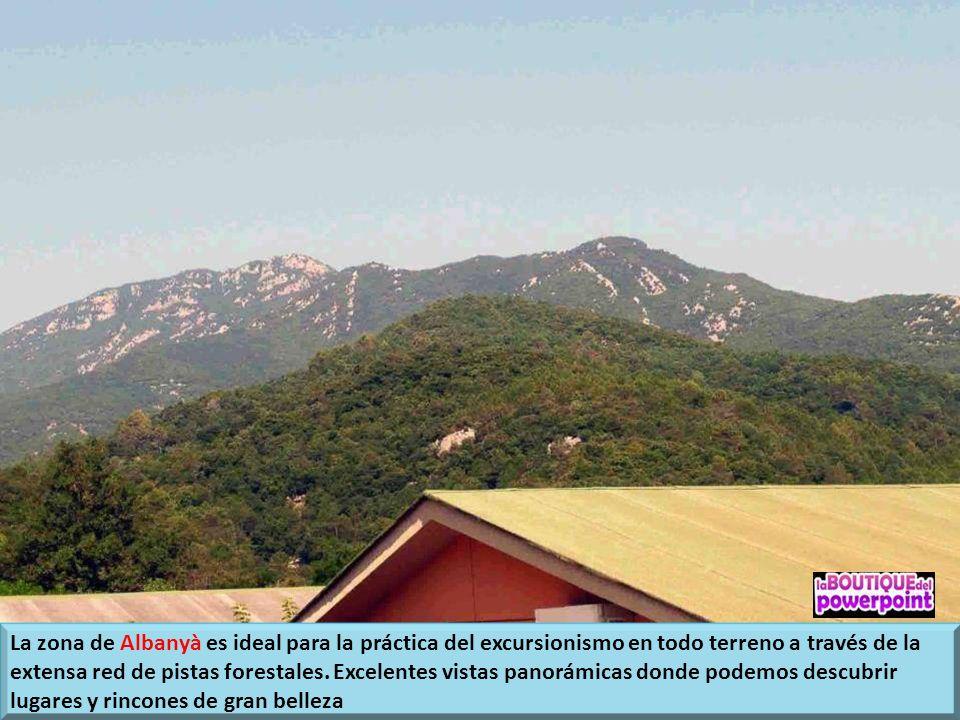 El Bassegoda Park, situado entre las comarcas del Alt Empordà, el Vallespir y la Alta Garrotxa se encuentra en un Parque de Espacios de Interés Natura