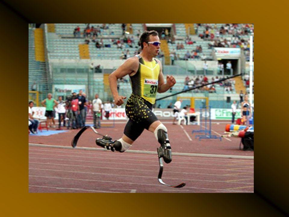 Oscar Pistorius, competirá en los Juegos Olímpicos de Pekín 2008. Su marca actual (46.56) está a apenas tres segundos del récord mundial y a sólo dos