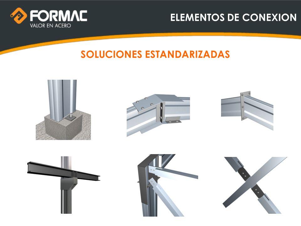 ELEMENTOS DE CONEXION SOLUCIONES ESTANDARIZADAS