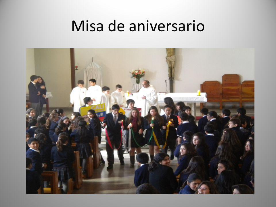 Misa de aniversario