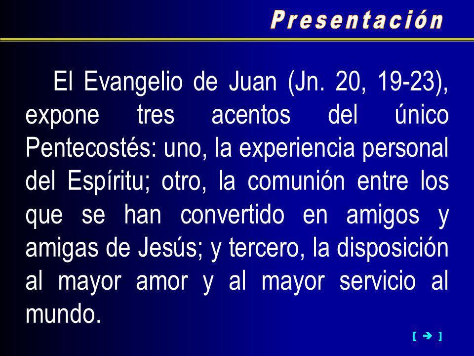 El Evangelio de Juan (Jn.