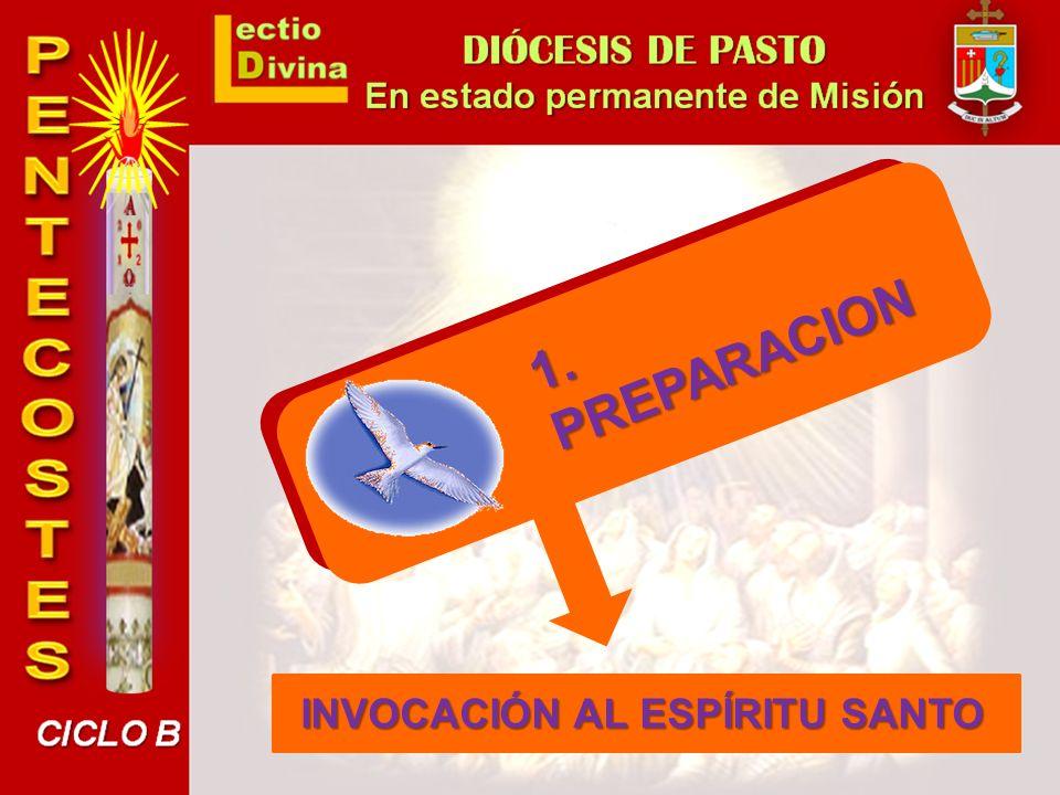 El Evangelio nos refiere al Espíritu Santo ofrecido por Jesús a los Apóstoles, como prenda del acontecimiento pentecostal.