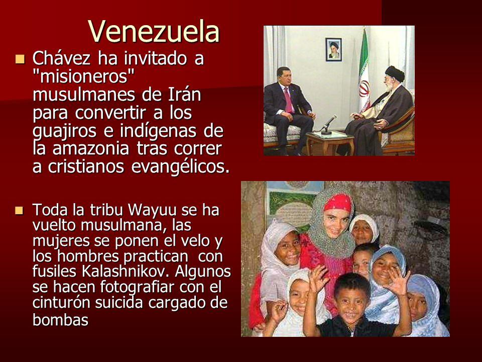 Venezuela Chávez ha invitado a