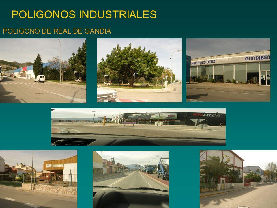 POLIGONOS INDUSTRIALES POLIGONO DE REAL DE GANDIA