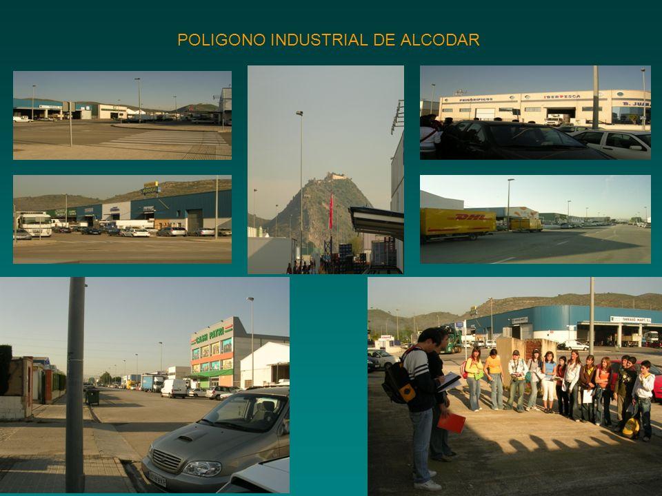 POLIGONO INDUSTRIAL DE ALCODAR
