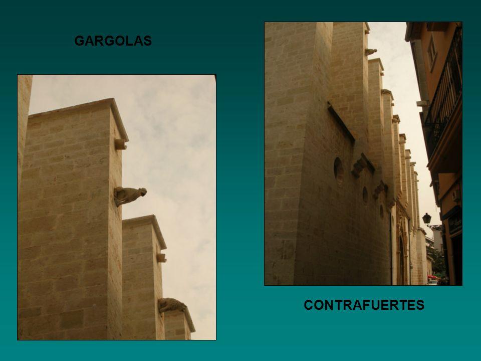 GARGOLAS CONTRAFUERTES