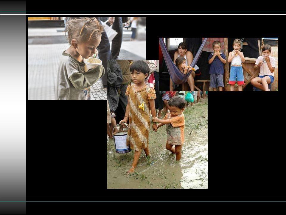 Nadie lo creería pero en los Estados Unidos hay zonas donde uno de cada cuatro habitantes es pobre.
