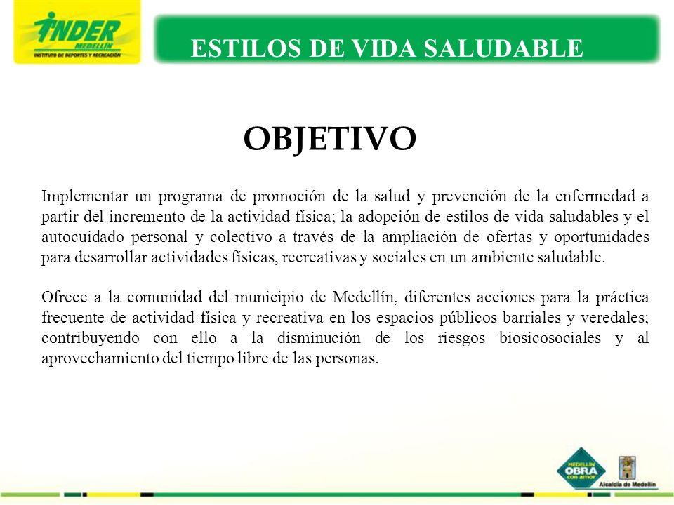 PLAN DE TRABAJO EJECUTADO EN EL 2009 ESTILOS DE VIDA SALUDABLE OBJETIVO Implementar un programa de promoción de la salud y prevención de la enfermedad