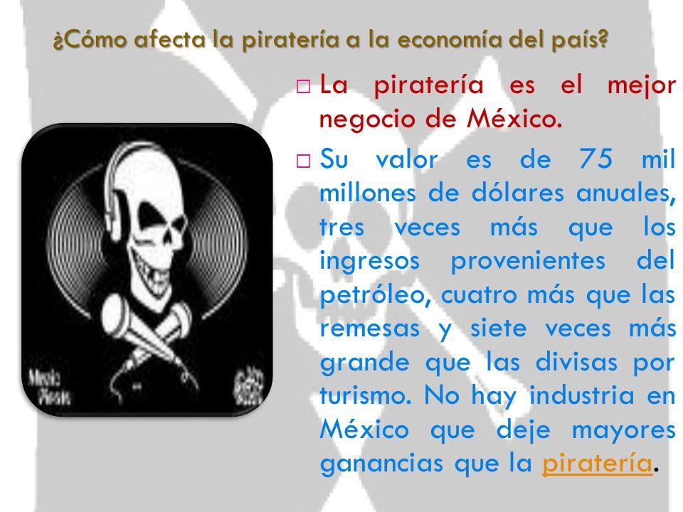 ¿Qué consecuencias tiene la piratería? Las consecuencias de la piratería pueden ser graves debido a que están afectando las economías de las personas