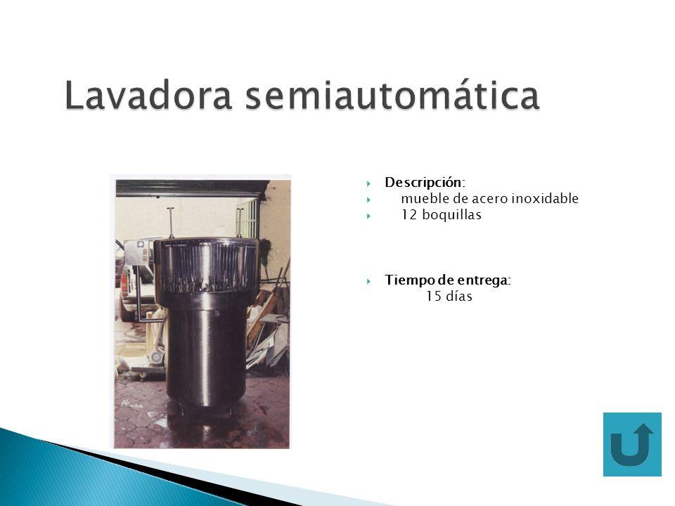 Descripción: mueble de acero inoxidable turbina de aire cortinas de teflón resistentes al calor Controladores de temperatura Alimentación 220V AC Tiempo de entrega: 15 días