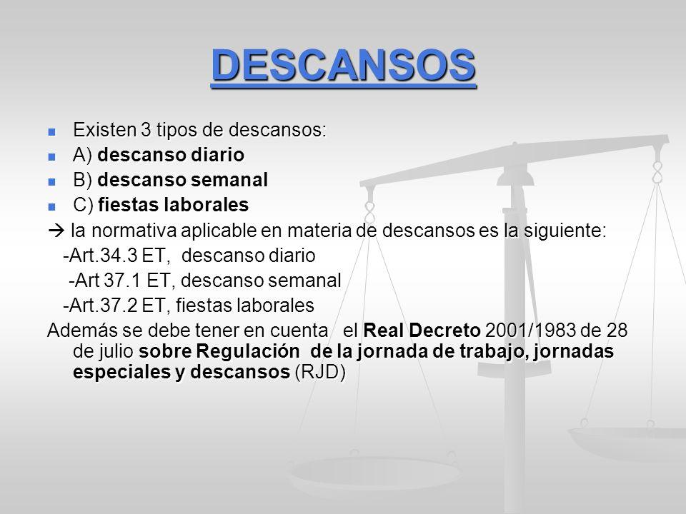 PERMISOS RETRIBUIDOS Sencillos Sencillos: Art.37.3 a), b) y c) LET Sencillos: Art.