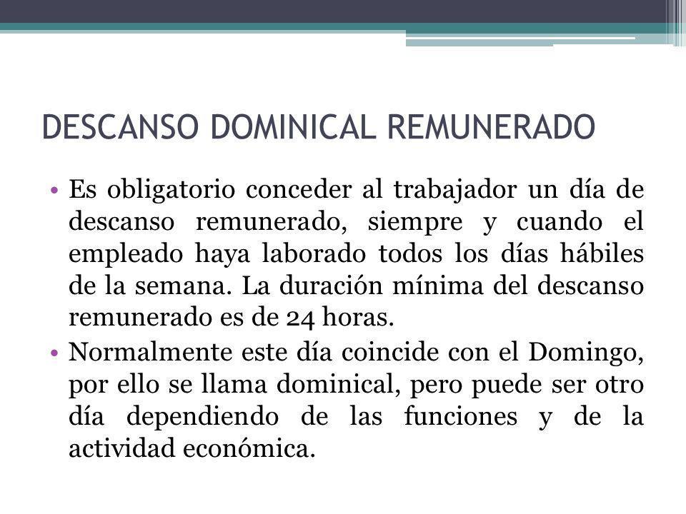 FÓRMULAS DE LIQUIDACIÓN
