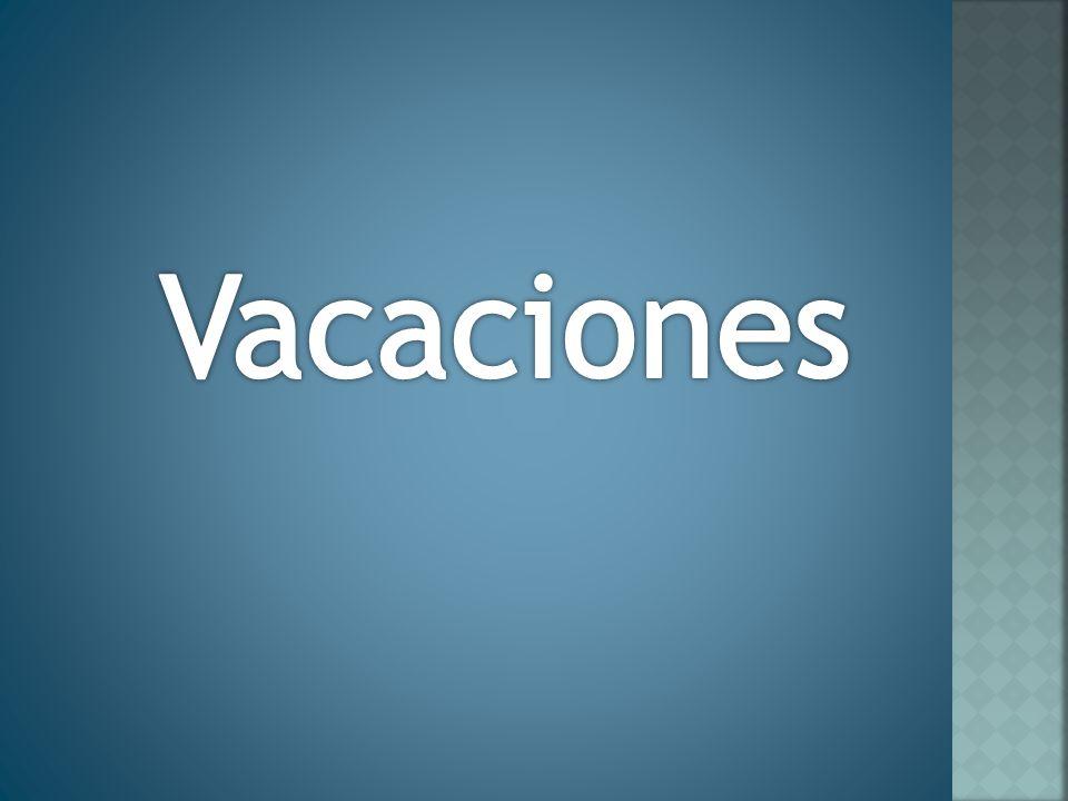 FINALIDAD DEL PERIODO VACACIONAL El descanso semanal no basta para que el trabajador pueda recobrarse de sus esfuerzos y que en virtud se hace indispensable que tenga un periodo mínimo de vacaciones anual.
