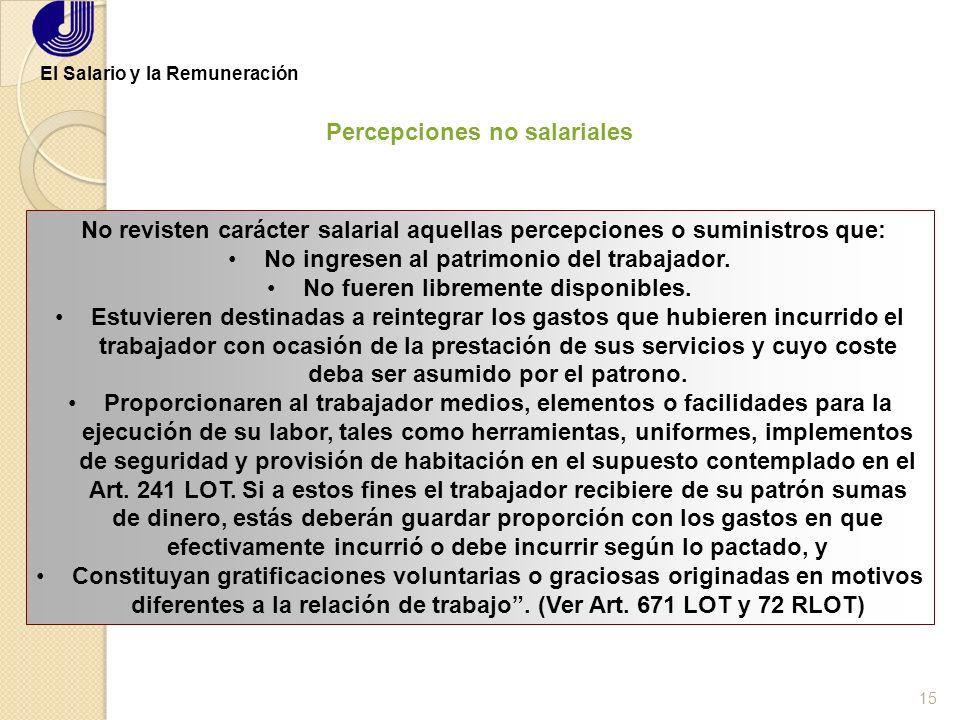 14 Orestes Salerno El Salario y la Remuneración Por sus Resultados Unidad de Tiempo Obra Asignada Destajo o Comisión Por las Personas IndividualColect