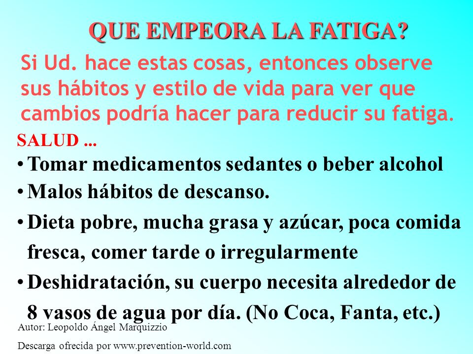 Autor: Leopoldo Ángel Marquizzio Descarga ofrecida por www.prevention-world.com