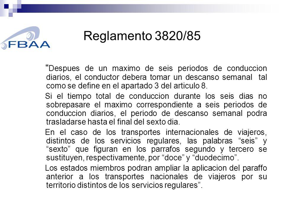 Reglamento 561/2006 1.
