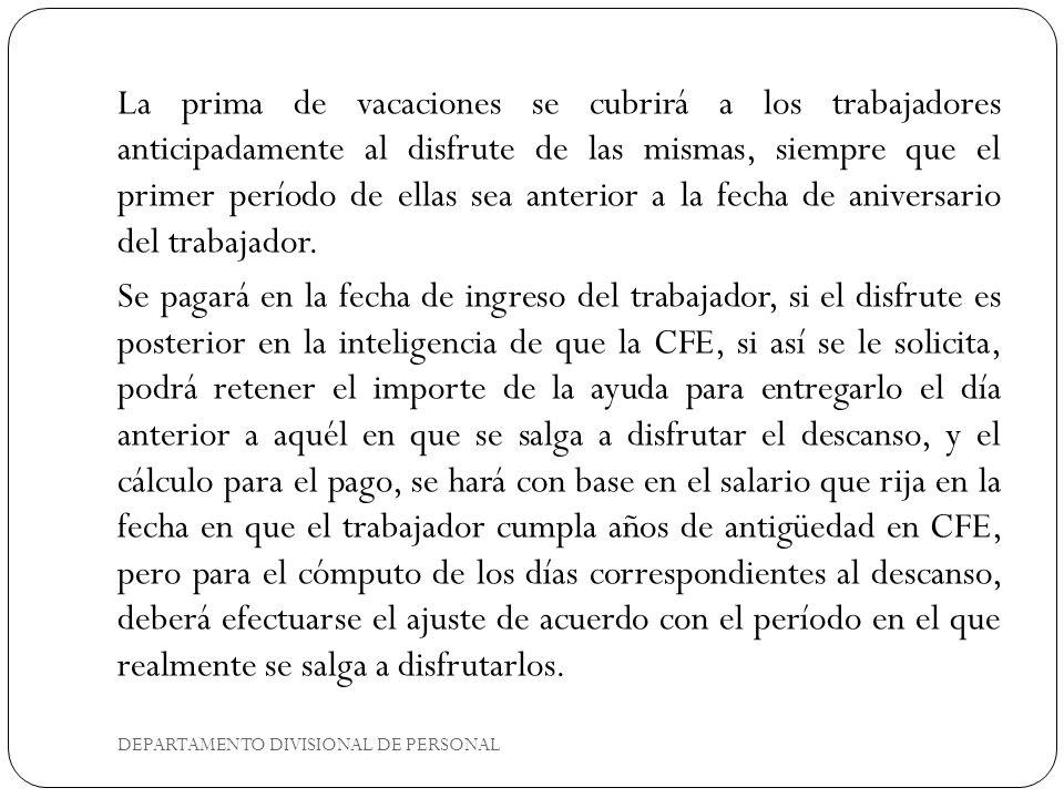 DEPARTAMENTO DIVISIONAL DE PERSONAL 2.