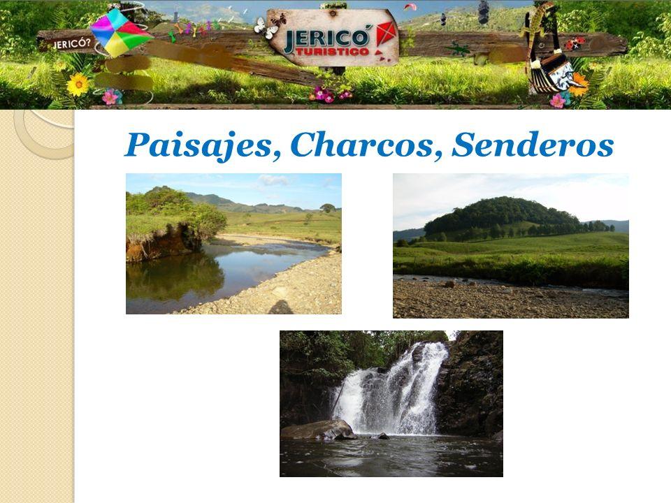 Paisajes, Charcos, Senderos