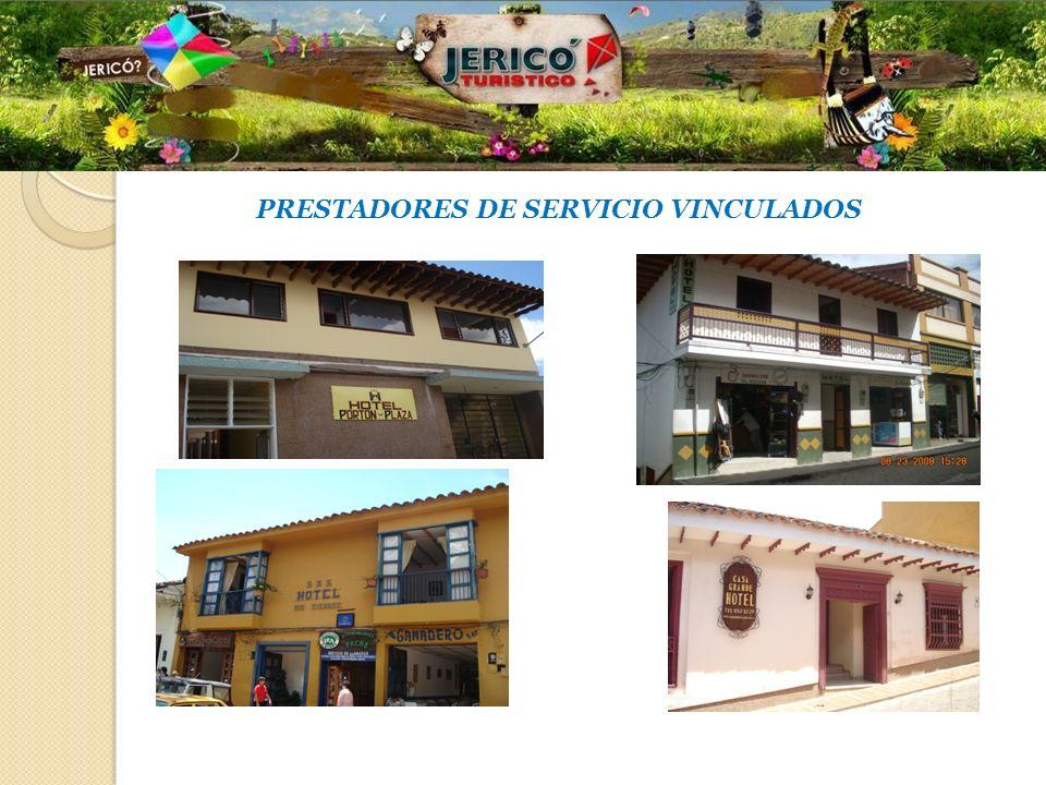 PRESTADORES DE SERVICIO VINCULADOS