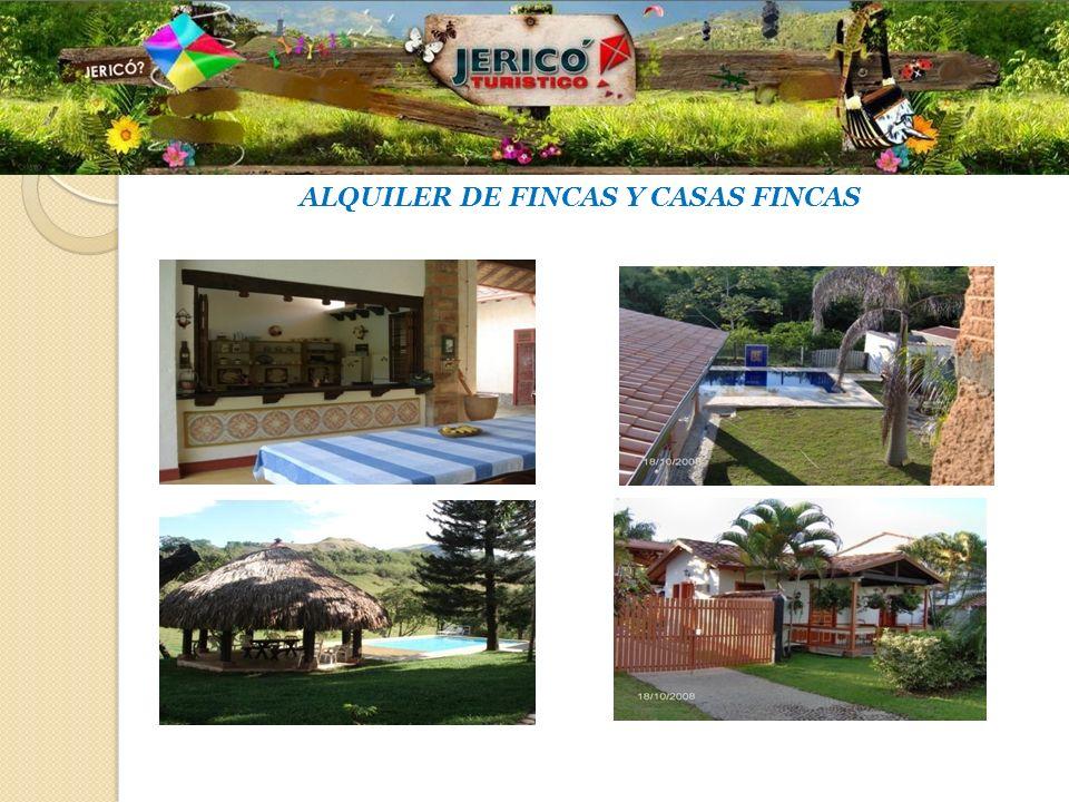 ALQUILER DE FINCAS Y CASAS FINCAS