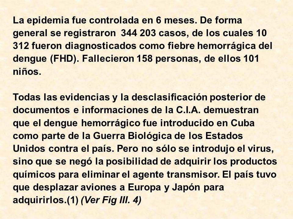 IV- Epidemiología.IV- Epidemiología.