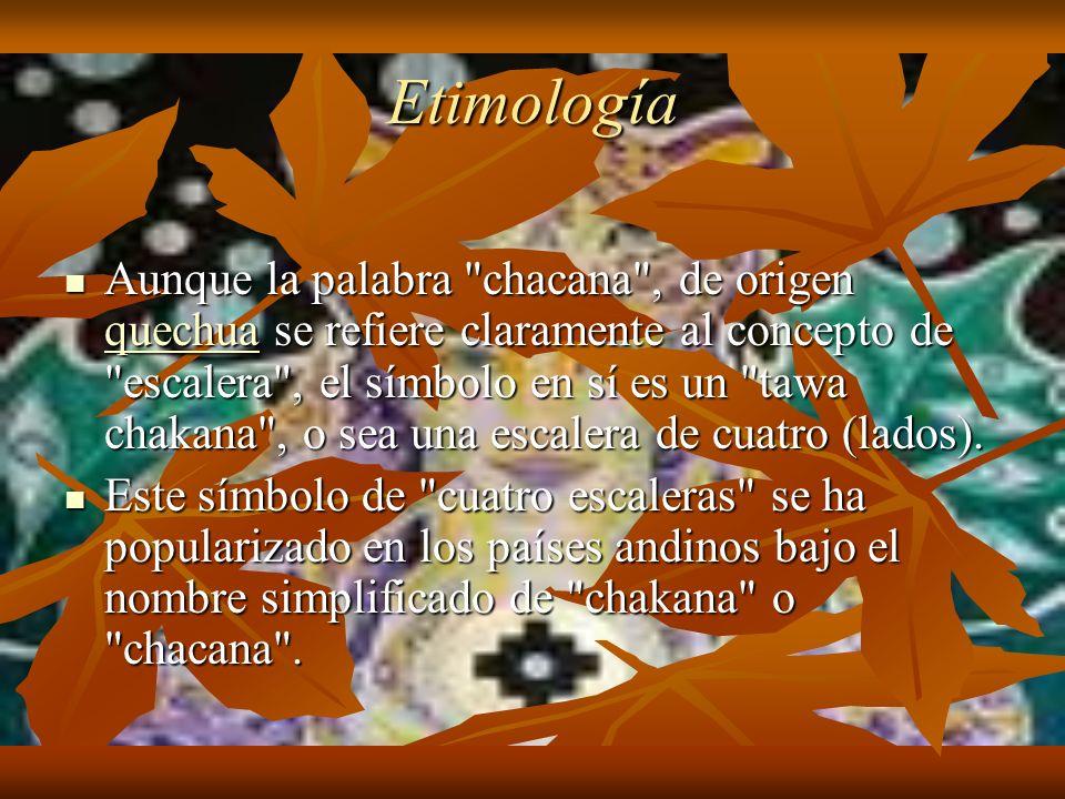 Etimología Aunque la palabra
