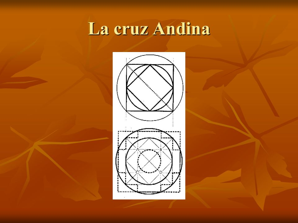 De hecho, la chakana no es una forma encontrada al azar, sino que se trata de una forma geométrica resultante de la observación astronómica.