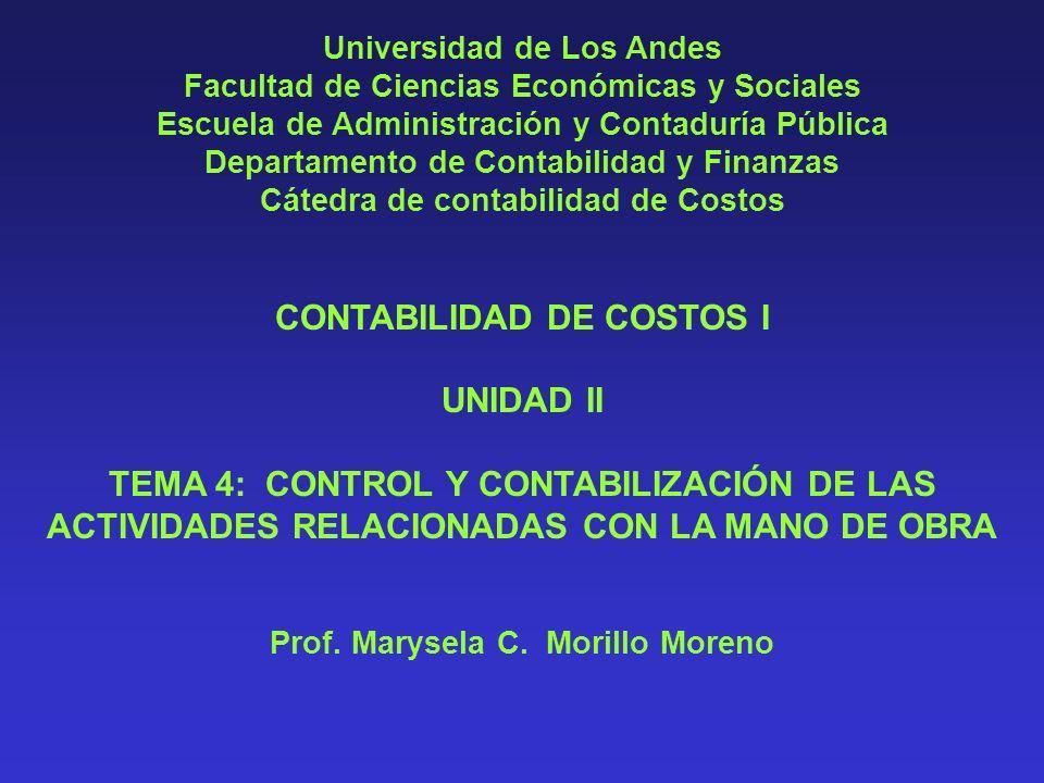 PRESTACIONES CUBIERTAS POR EL SEGURO SOCIAL A) INCAPACIDAD TEMPORAL B) INVALIDEZ O INCAPACIDAD PARCIAL C) VEJEZ D) MUERTE DEL TRABAJADOR E) MATRIMONIO Contabilidad de Costos I.
