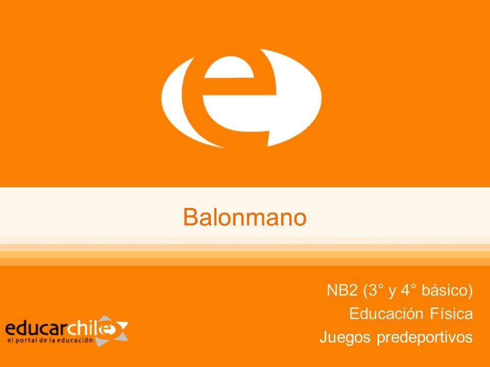Balonmano NB2 Educación Física Balonmano