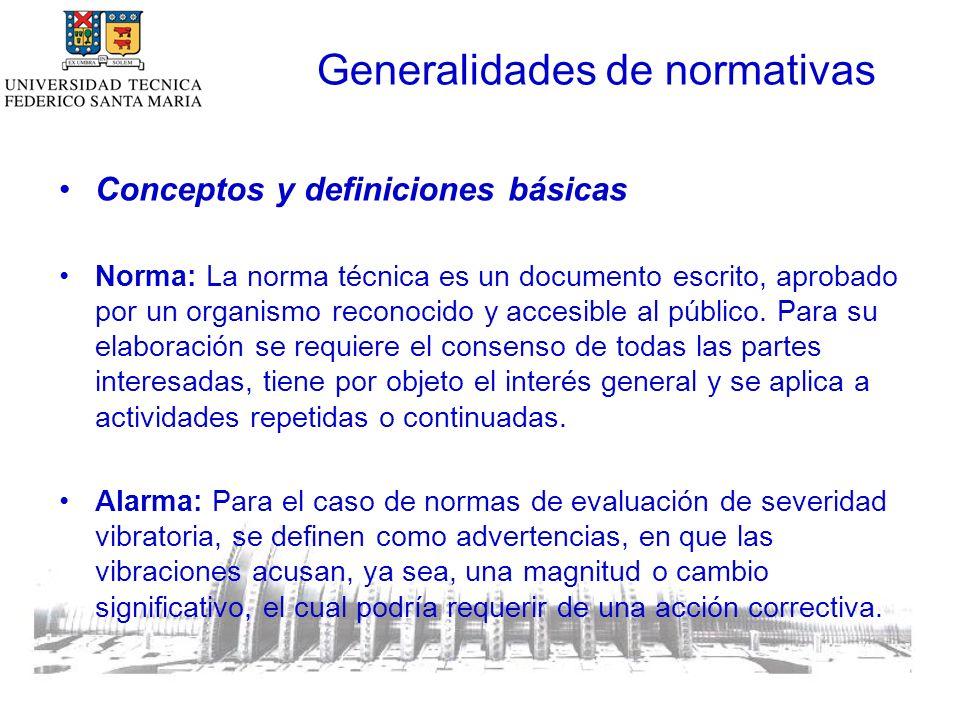 Conceptos y definiciones básicas Norma: La norma técnica es un documento escrito, aprobado por un organismo reconocido y accesible al público.