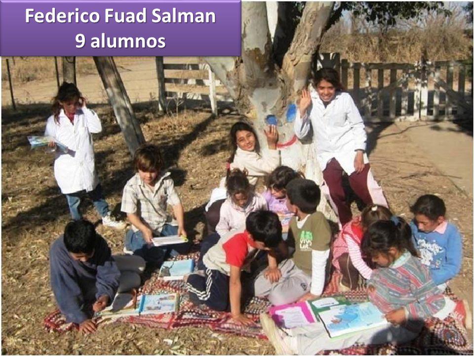 Federico Fuad Salman 9 alumnos Federico Fuad Salman 9 alumnos
