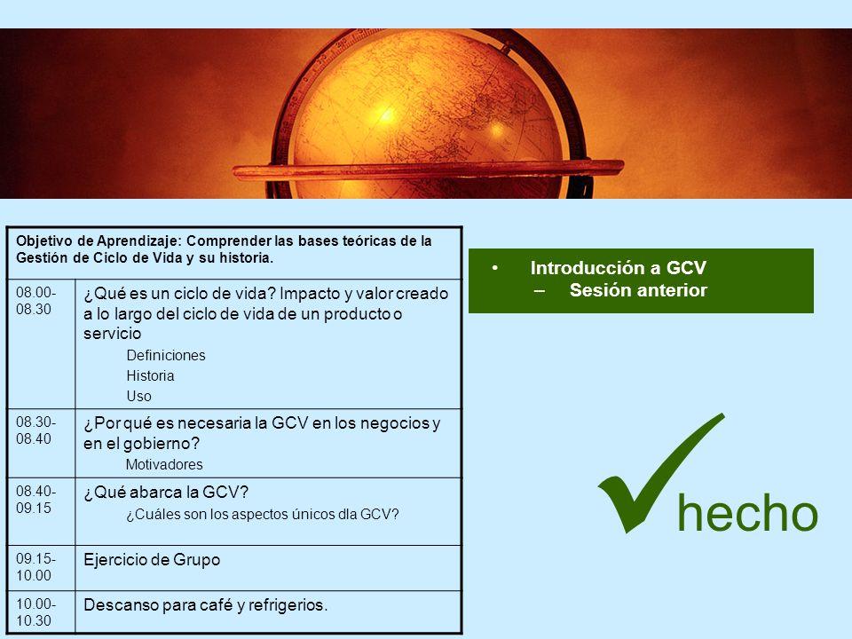 24 PASO TRES - REVISAR Evaluar Revisar –Revisar políticas y estructuras organizacionales como se necesite Hacer Implementar GCV: Planear-Hacer-Revisar-Actuar
