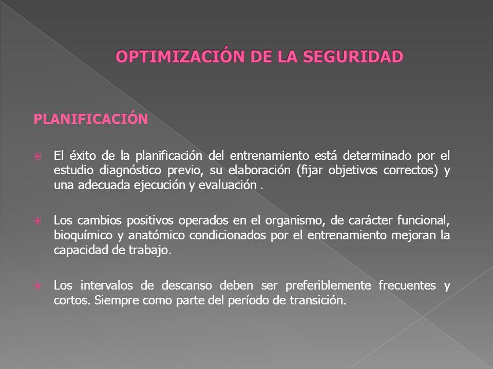 PLANIFICACIÓN La periodización y planificación del entrenamiento deportivo se consolidan sobre los siguientes sustentos: Biológico.