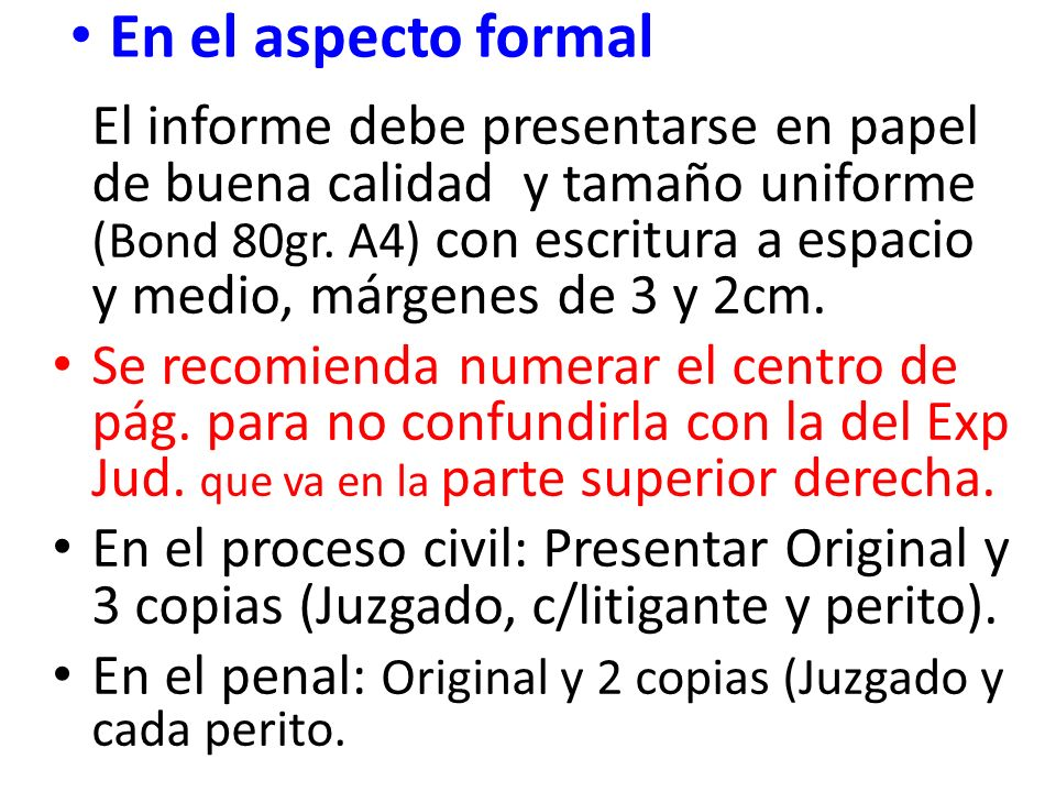 TIPOS DE INFORME