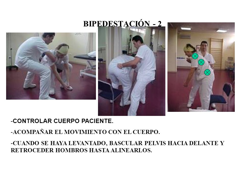 BIPEDESTACIÓN - 1 ABRAZO POSTERIOR.CONTROL PELVIS Y HOMBRO.