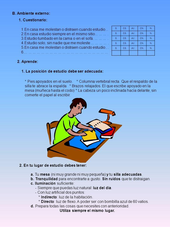 ORGANIZACIÓN DEL ESTUDIO: A.