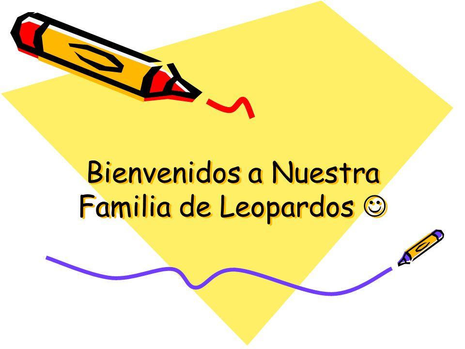 Bienvenidos a Nuestra Familia de Leopardos