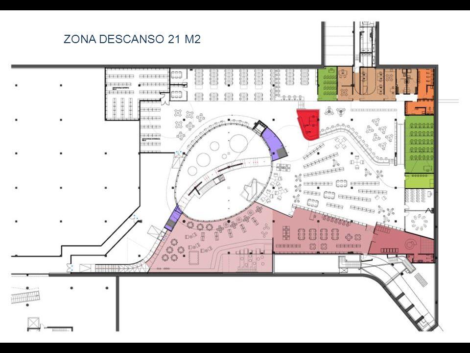 ZONA DESCANSO 21 M2
