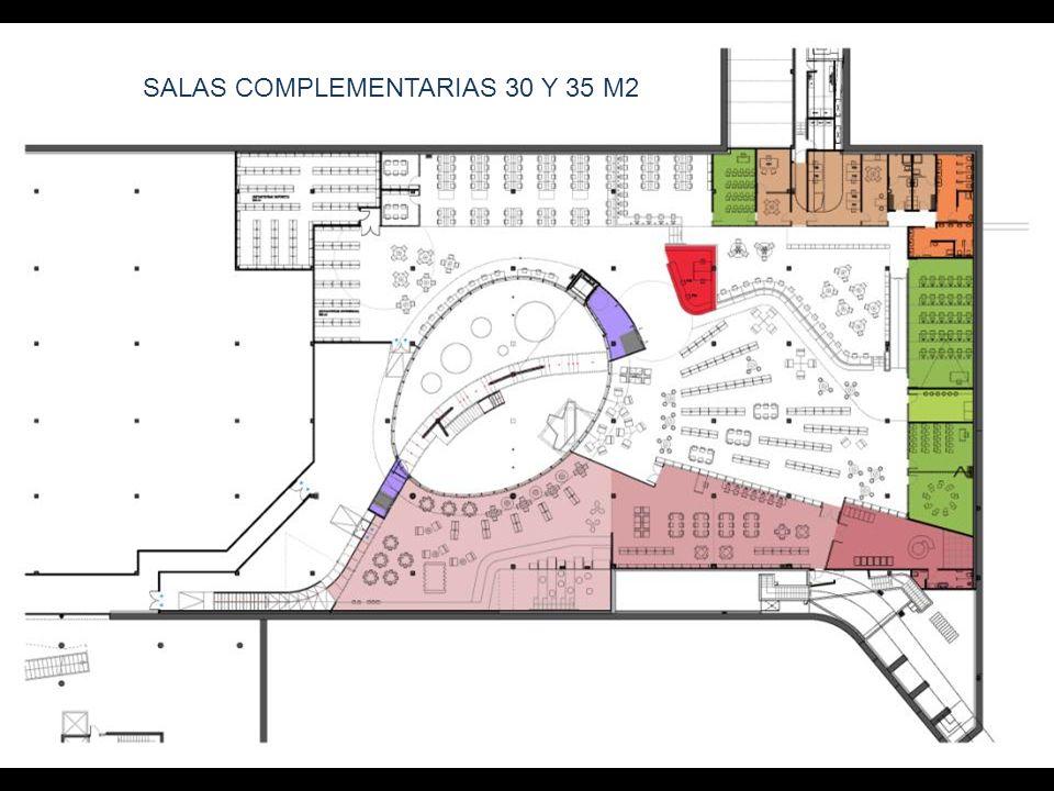 SALAS COMPLEMENTARIAS 30 Y 35 M2