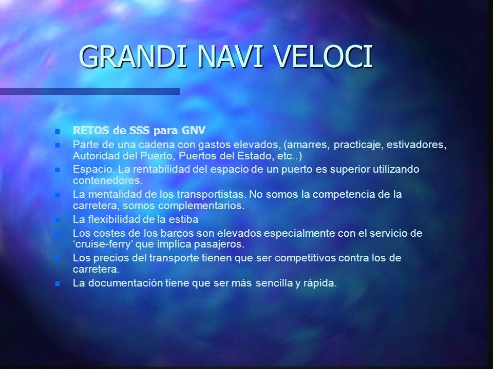GRANDI NAVI VELOCI Maximización de la rentabilidad de su equipo (Trailer, Semiremolques, Tractoras). La Asociación de SSS dice que los clientes podría
