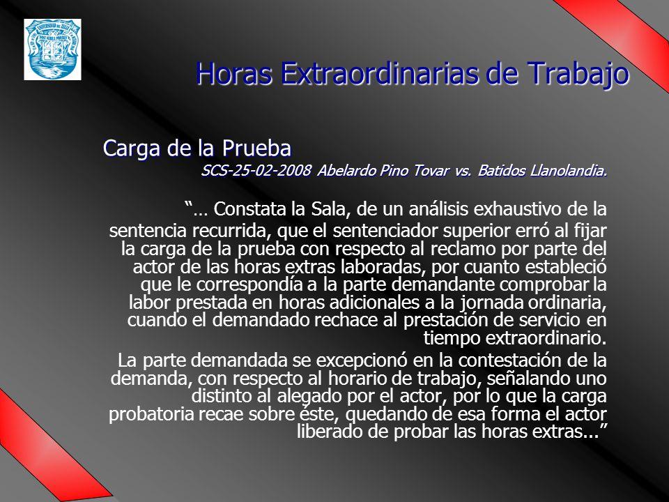 Carga de la Prueba SCS-25-02-2008 Abelardo Pino Tovar vs.