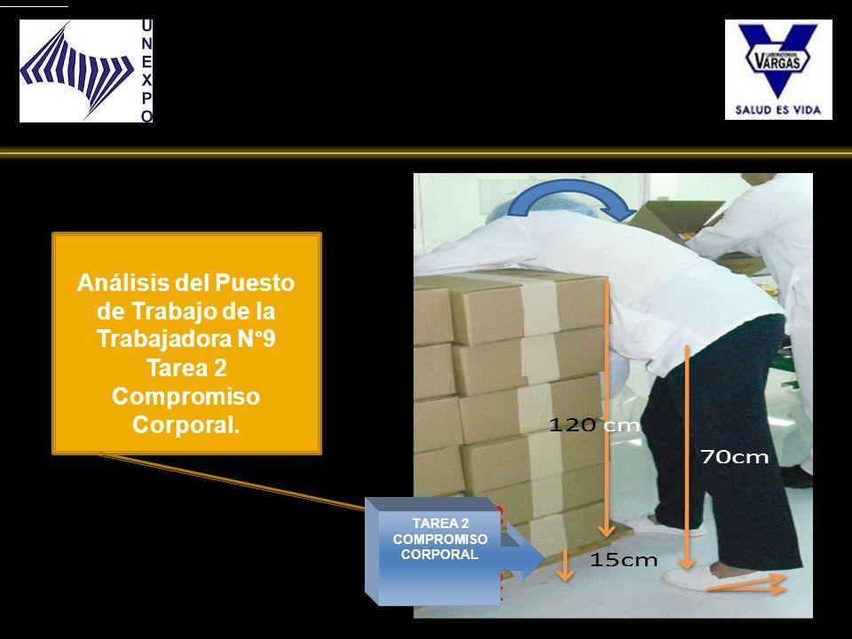 TAREA 2 COMPROMISO CORPORAL Análisis del Puesto de Trabajo de la Trabajadora N°9 Tarea 2 Compromiso Corporal.