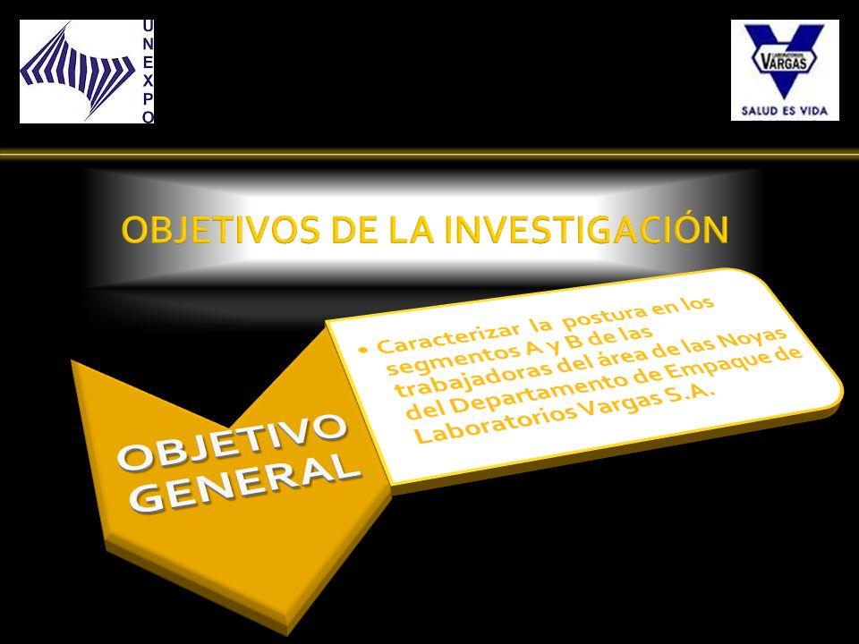 RELACION ANTROPOMETRICA Análisis del Puesto de Trabajo de la Trabajadora N°9.
