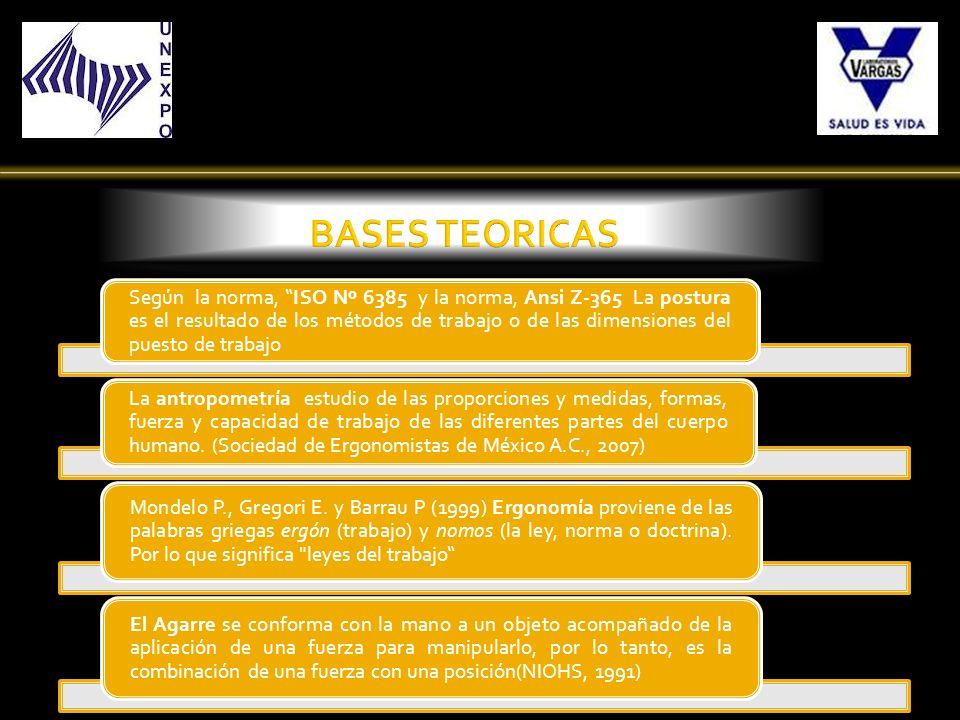 Se organizó en Excel los resultados de la aplicación del Método REBA y se elaboraron cuadros correspondientes con cada objetivo especifico.
